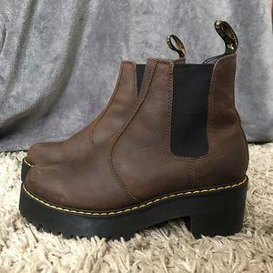 Dr Marten's Dark Brown Boots 25% off